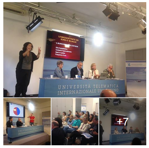 A collage of photos taken during the workshop, hosted by UNINETTUNO University and organized by Effebi Association. Full photos are accessible on ISOLearn Facebook Page